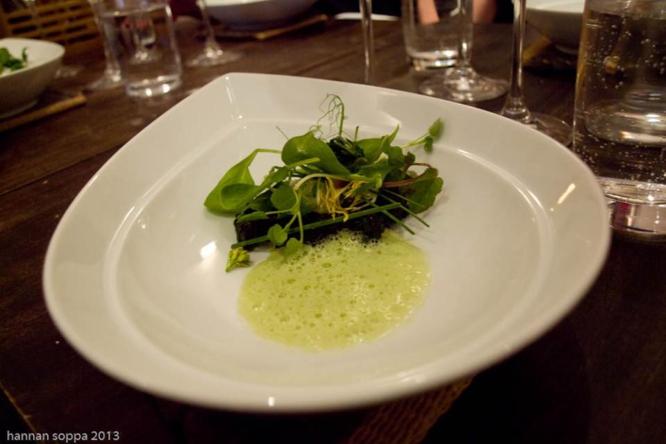 vihreä riisi