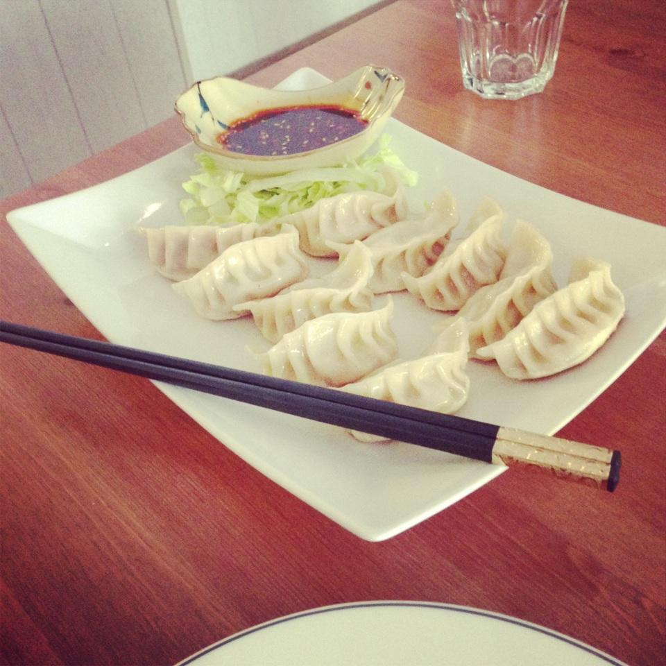 dumplings at Mei Lin