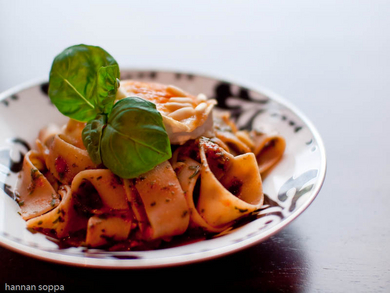 Pappardelle-pasta