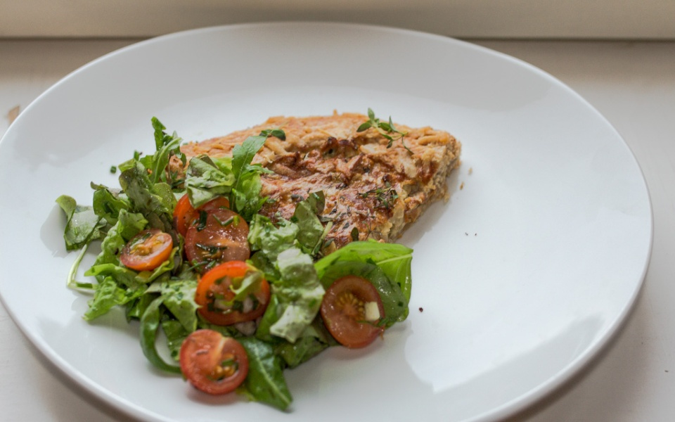 galette ja salaatti / Hannan soppa